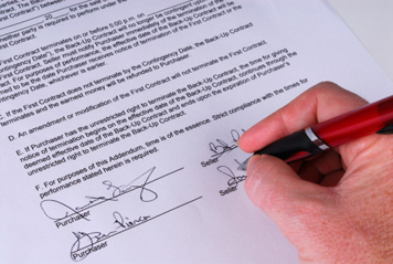 Making an Auto Sales Contract DMVorg