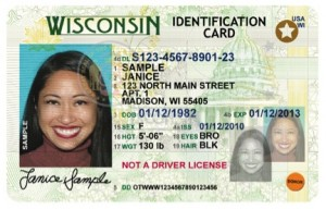 Wisconsin REAL ID Sample