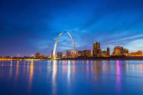 Downtown St. Louis.