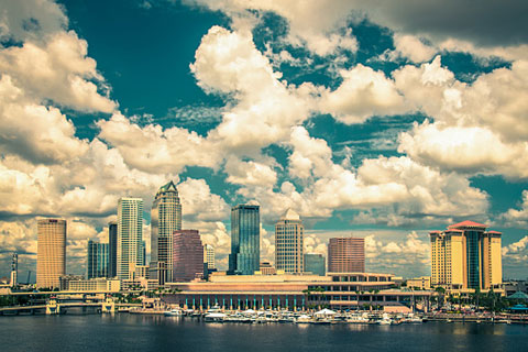 Tampa, FL, hosted the 2012 Republican National Convention.