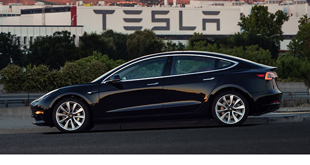 Tesla S Model 3 Has Started Rolling Off Embly Lines In California