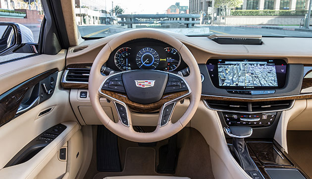The 2017 Cadillac Ct6 Came Equipped With Eye Tracking Technology Which Alerts Driver When Their Eyes Stray From Road In Front Of Them