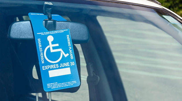 Qualifications for disability license plates and placards
