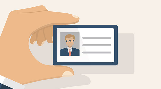how do you provide identification when applying for an id card