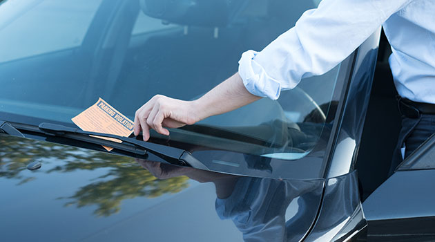 Handling A Lost Parking Ticket