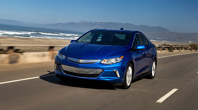 The 2018 Chevrolet Volt Was One Of Only American Made Cars Named To Annual Iihs List Safest Vehicles