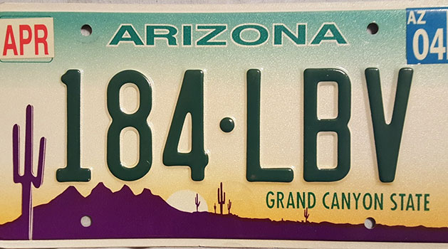 An Arizona legislator is proposing a plan to eliminate the registration labels that appear on the state's license plates.