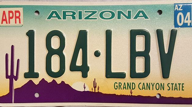Car Insurance Arizona Plates