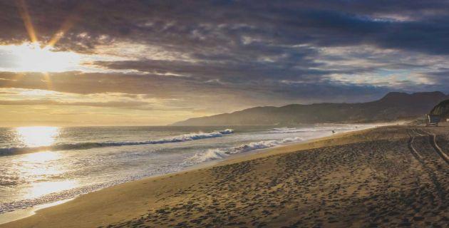 Point Dume State Beach in Malibu, California