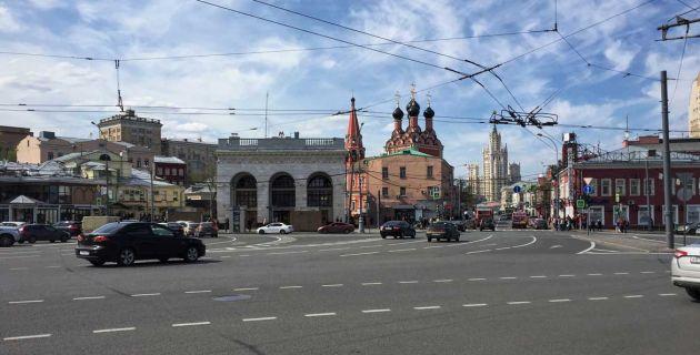 Taganka Square, Moscow
